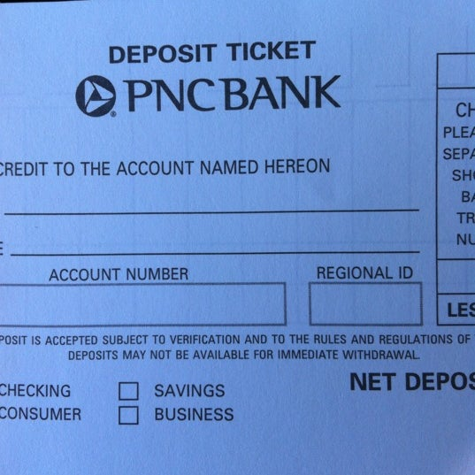 Pnc Account Number