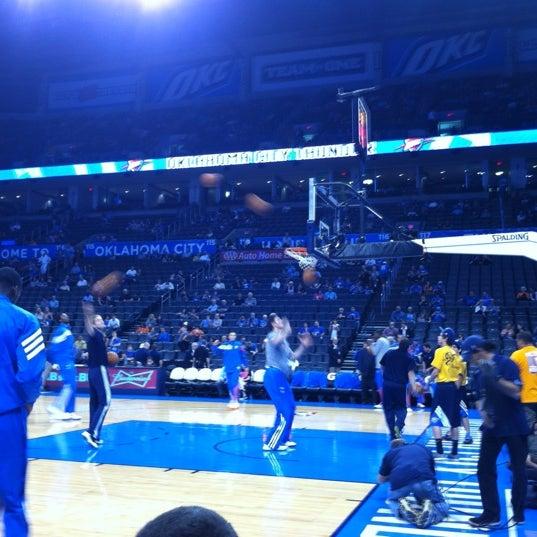 Das Foto wurde bei Chesapeake Energy Arena von Lisa F. am 10/16/2012 aufgenommen