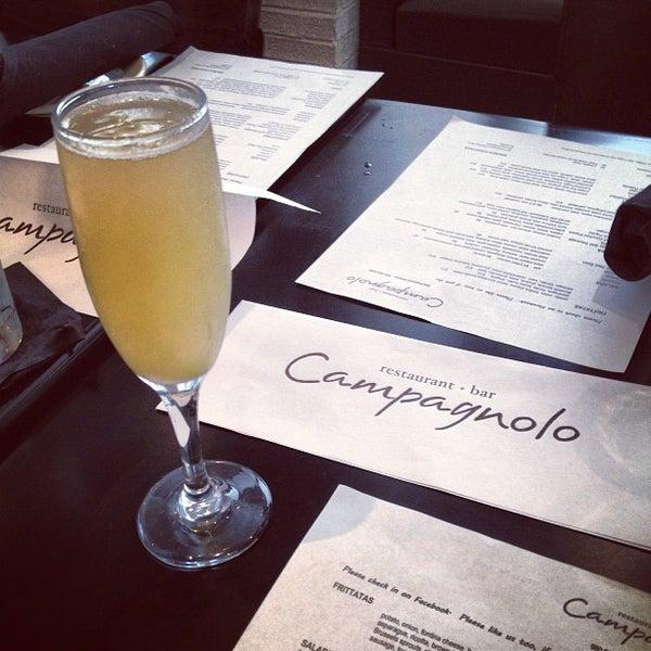 Das Foto wurde bei Campagnolo Restaurant + Bar von Quinton C. am 5/18/2013 aufgenommen