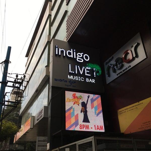รูปภาพถ่ายที่ Indigo Live - Music Bar โดย Eliyas M. เมื่อ 12/14/2016