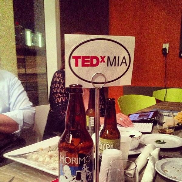 Das Foto wurde bei Jimmy'Z Kitchen Wynwood von TEDxMIAMI am 2/13/2013 aufgenommen