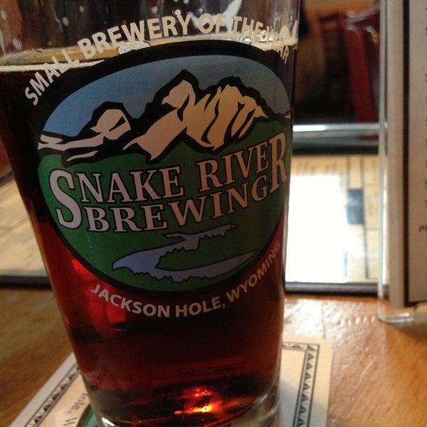 Das Foto wurde bei Snake River Brewery & Restaurant von Brad E. am 5/6/2013 aufgenommen