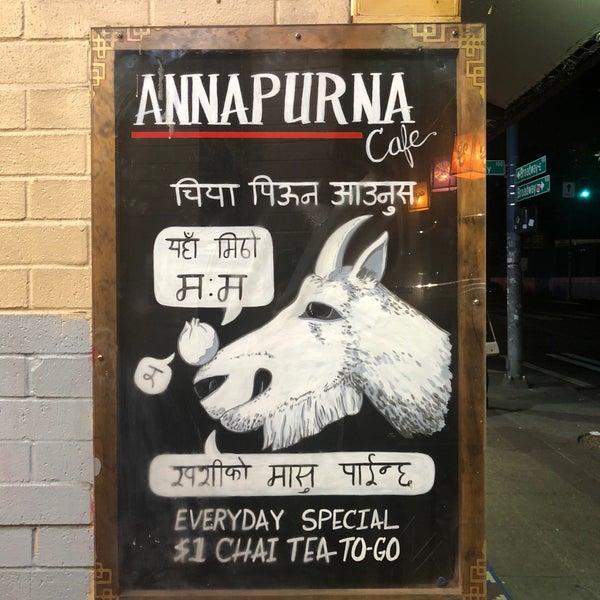 9/14/2018에 Nate W.님이 Annapurna Cafe에서 찍은 사진