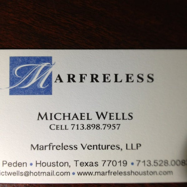 รูปภาพถ่ายที่ Marfreless โดย Kevin R. เมื่อ 1/26/2013