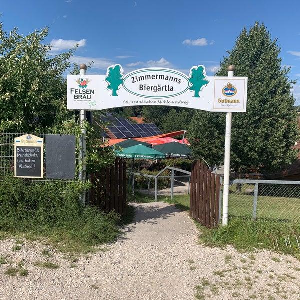 Zimmermanns Biergartla 3 Besucher