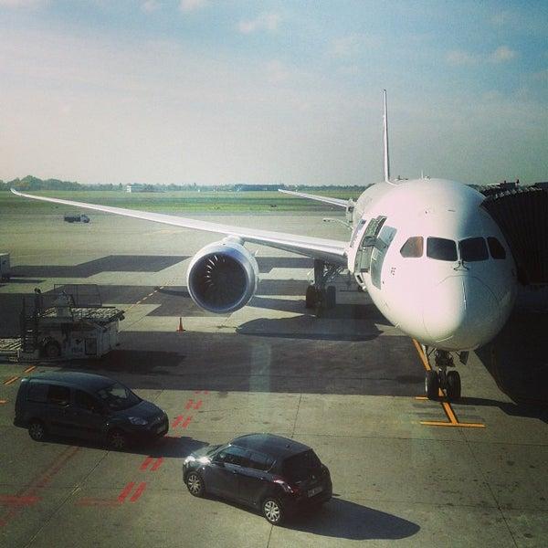 10/18/2013에 Thomas K.님이 바르샤바 쇼팽 공항 (WAW)에서 찍은 사진