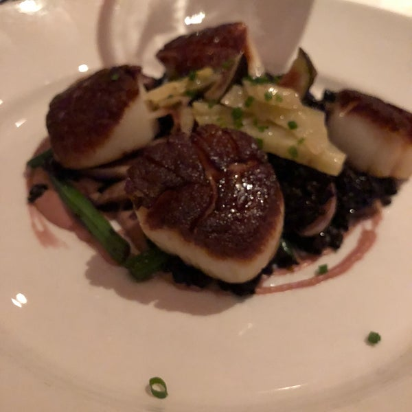 The scallops were insane! So delicious! We also had a lot of small plates to share on our table and everyone loved every dish and every bite! Perfect spot for celebrations or special occasions.