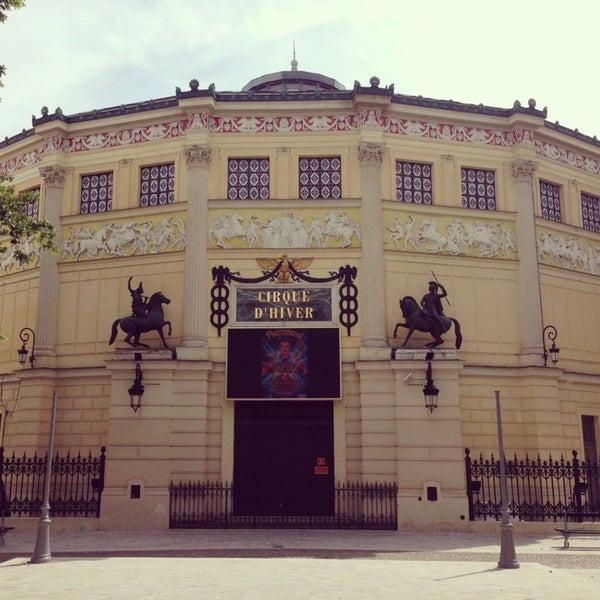 Cirque d'Hiver Bouglione - París, Isla de Francia