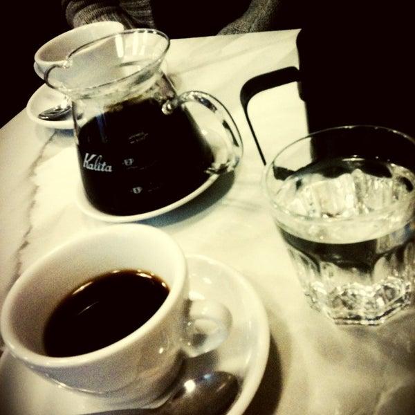 1/17/2013にDOMIがTamp & Pull Espresso Barで撮った写真