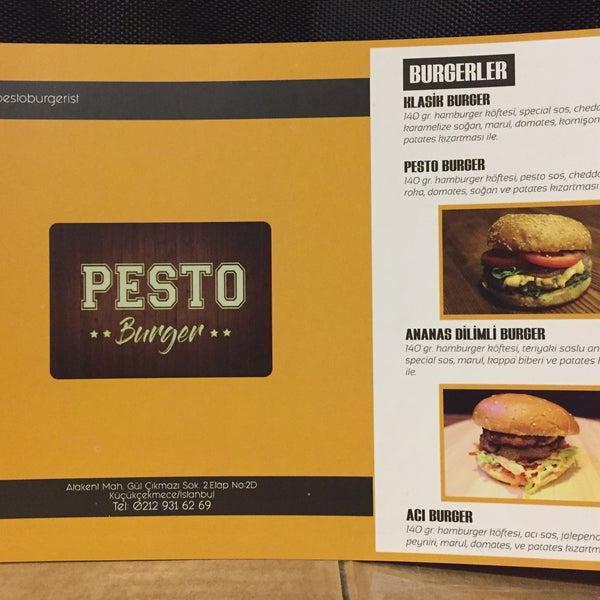 Pesto Burger Atakent 5 Dicas