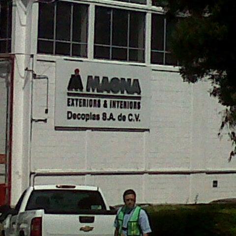 Magna Exteriors Interiors Decoplas Sa De Cv Office In