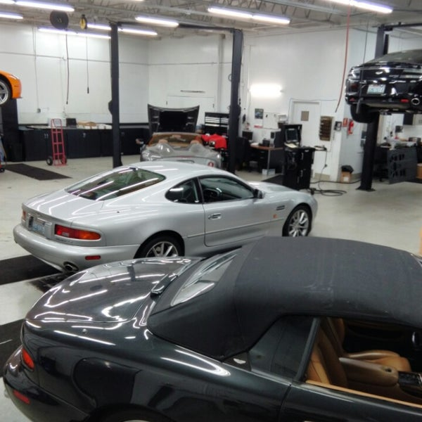 Park Place Aston Martin Auto Dealership In Bellevue