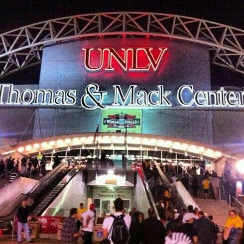 Das Foto wurde bei Thomas & Mack Center von Stellar D. am 10/20/2012 aufgenommen