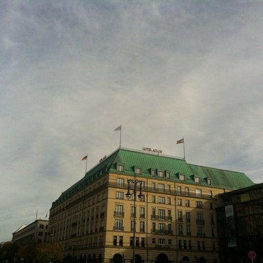 11/5/2012에 Irina M.님이 Hotel Adlon Kempinski Berlin에서 찍은 사진