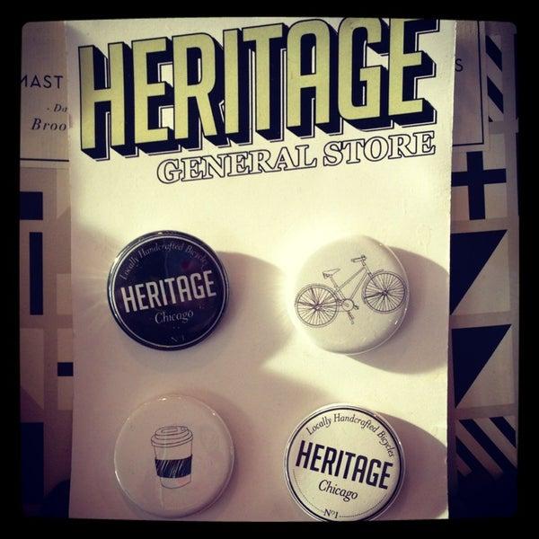 รูปภาพถ่ายที่ Heritage Bicycles โดย Erin T. เมื่อ 2/17/2013