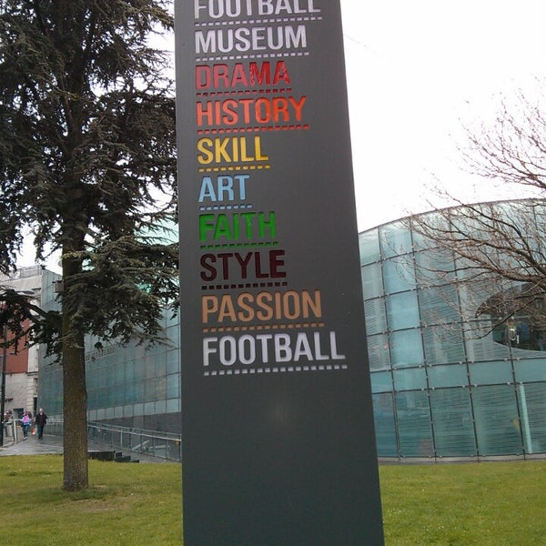 5/28/2013 tarihinde Tonetziyaretçi tarafından National Football Museum'de çekilen fotoğraf
