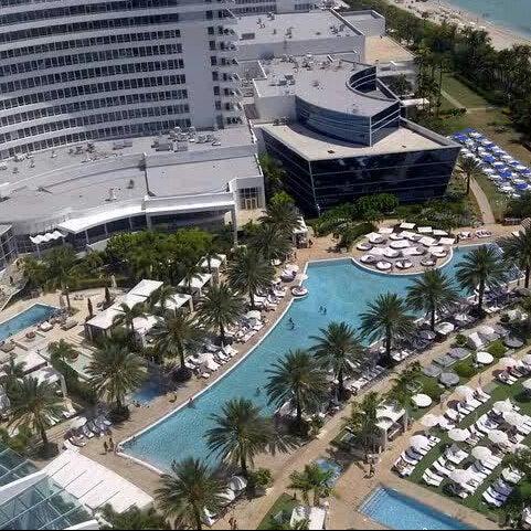 Photo prise au Fontainebleau Miami Beach par LUIS A. le11/10/2012