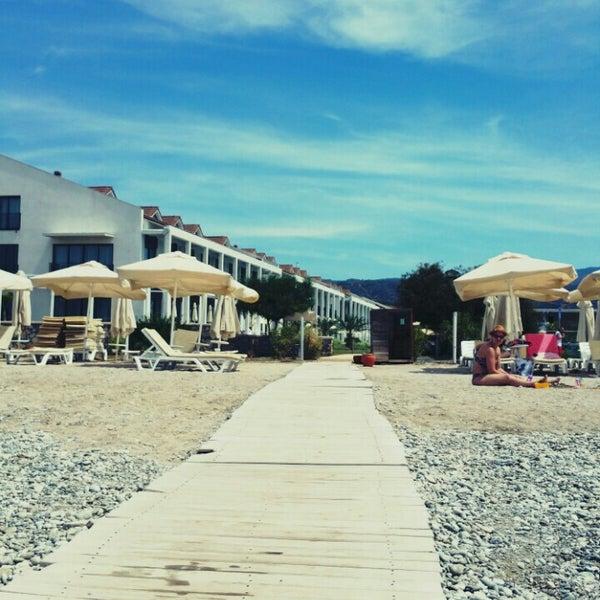 Снимок сделан в Jiva Beach Resort пользователем Cahit E. 4/22/2016