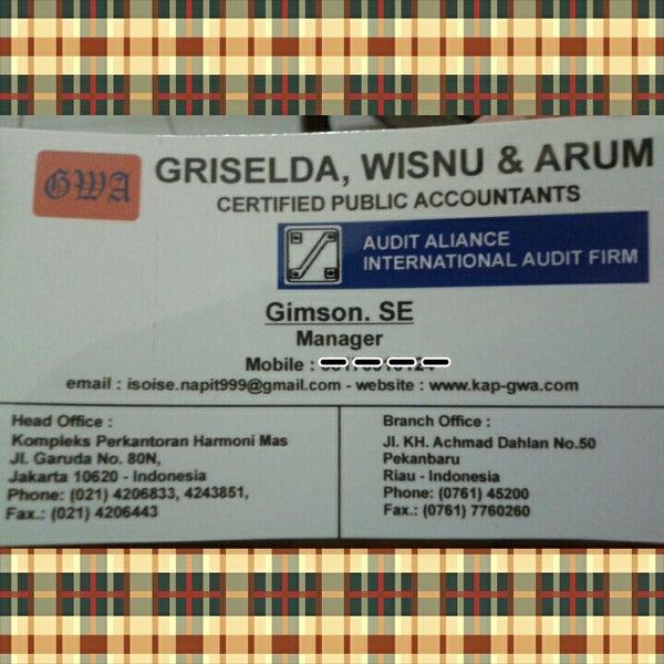 My office ( Public Accountant Dra. S. Griselda) - Kemayoran