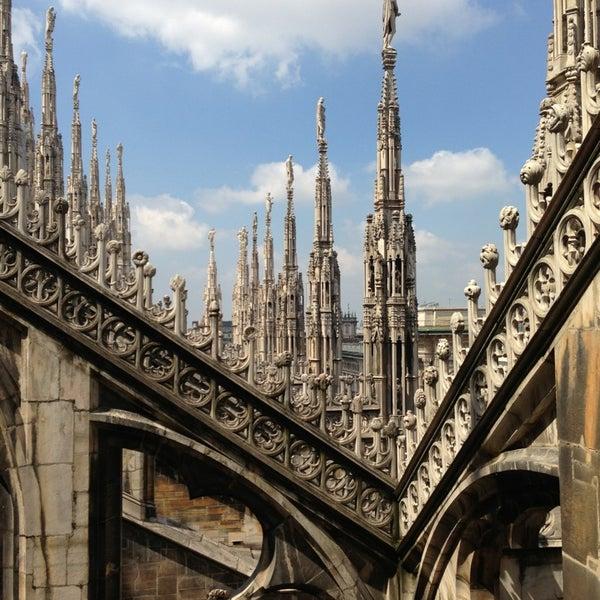 Photo prise au Dôme de Milan par Iryna le4/23/2013