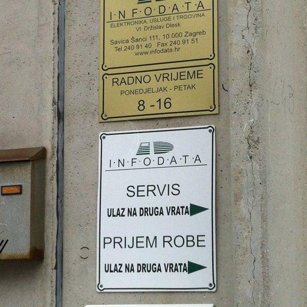 Infodata Office In Grad Zagreb