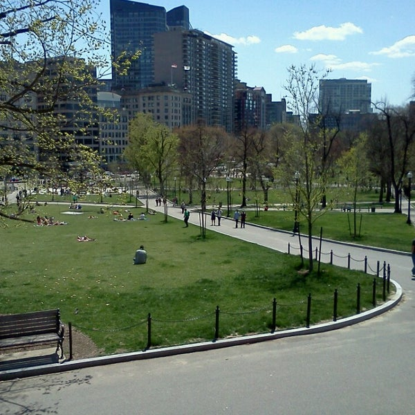 Foto scattata a Boston Common da Judge L. il 4/28/2013