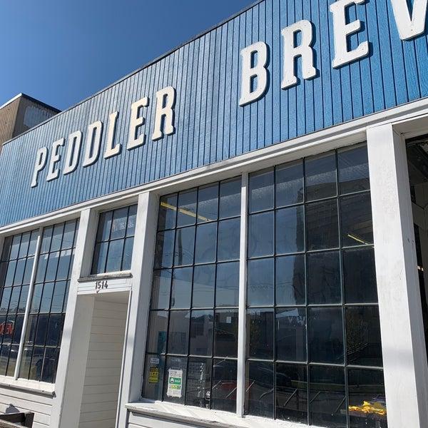 Снимок сделан в Peddler Brewing Company пользователем Eric B. 4/11/2020