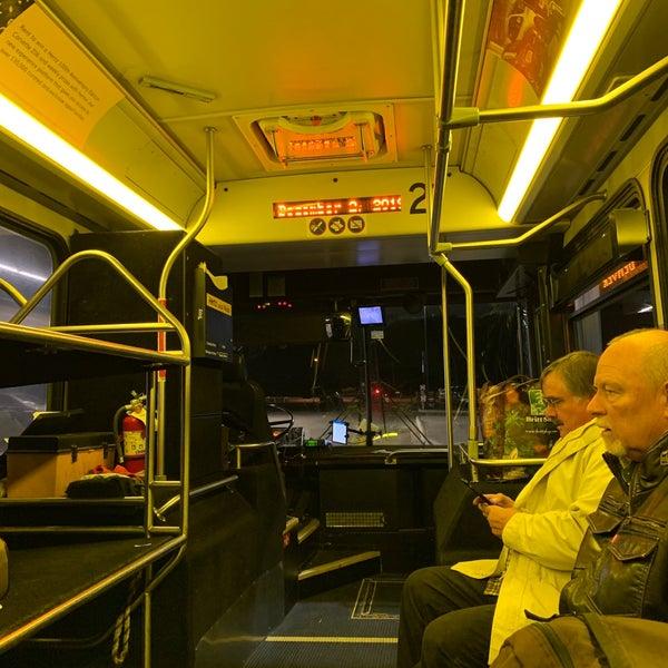 Bus Line In Denver International Airport