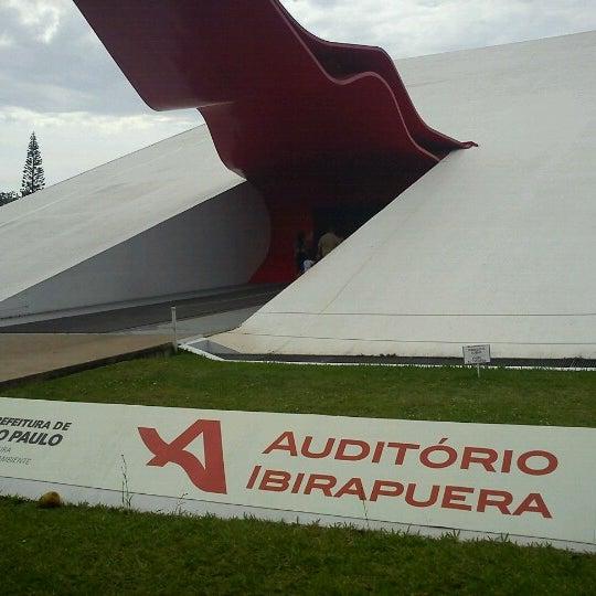 12/8/2012에 Sidney A.님이 Auditório Ibirapuera Oscar Niemeyer에서 찍은 사진