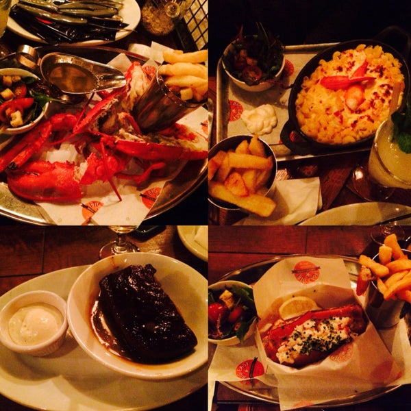 Amazing American cuisine. Mussels in garlic cream sauce, BBQ ribs and lobster roll are must try. Not to forget the delicious sticky toffee pudding to end the mouthwatering meal