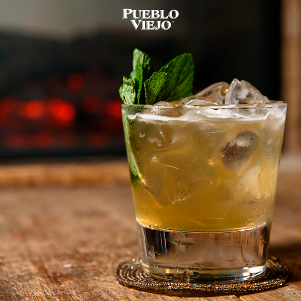 Share a cocktail with Pueblo Viejo Tequila!