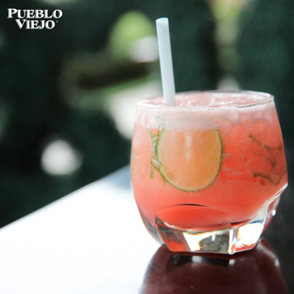 The best cocktails are mixed  here with Pueblo Viejo Tequila!