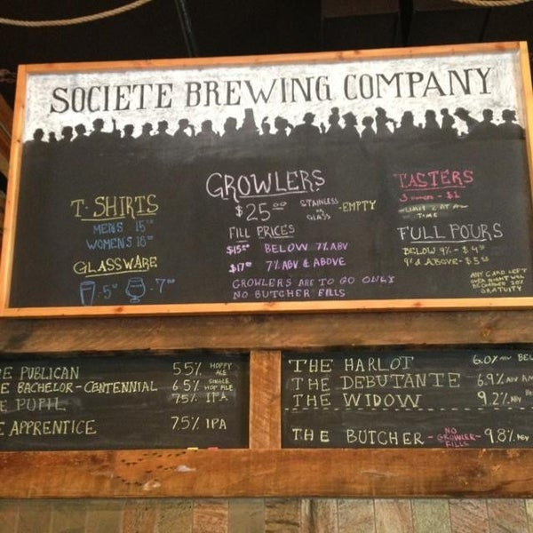 Photo prise au Societe Brewing Company par Jason H. le5/26/2013