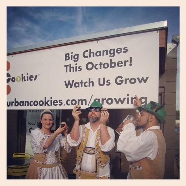Снимок сделан в Urban Cookies Bakeshop пользователем Shaun B. 9/30/2012