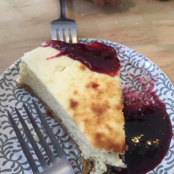 Delicioso cheese cake de ricotta 👌🏻