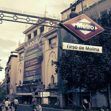 Plaza De Tirso De Molina Plaza In Madrid