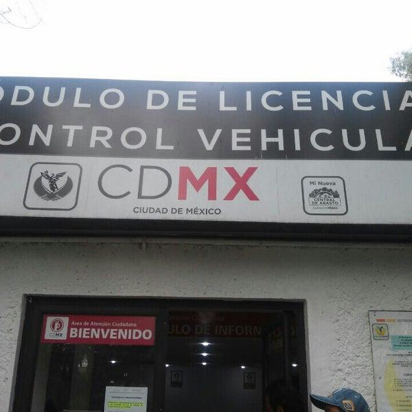 Modulo De Licencias Y Control Vehicular Central De Abastos