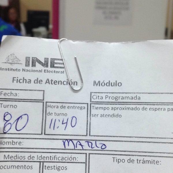Módulo Ine Gral Escobedo Nuevo León