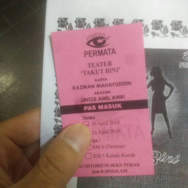 Photos At Auditorium Jabatan Kebudayaan Kesenian Negara Perak 101 Visitors