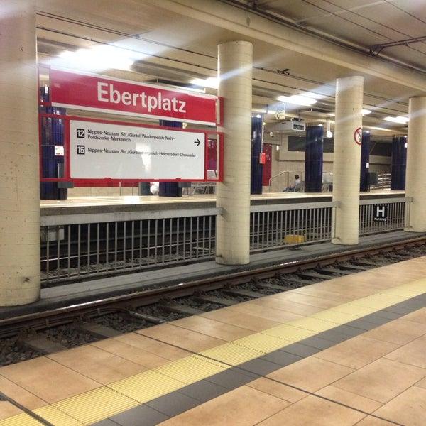 H+U Ebertplatz - U-Bahnhof in Agnesviertel