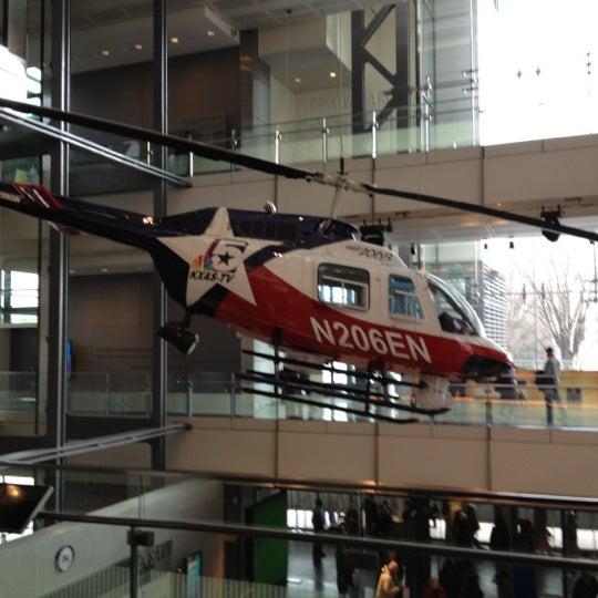 Снимок сделан в Музей журналистики и новостей пользователем DoWriteMan 12/27/2012