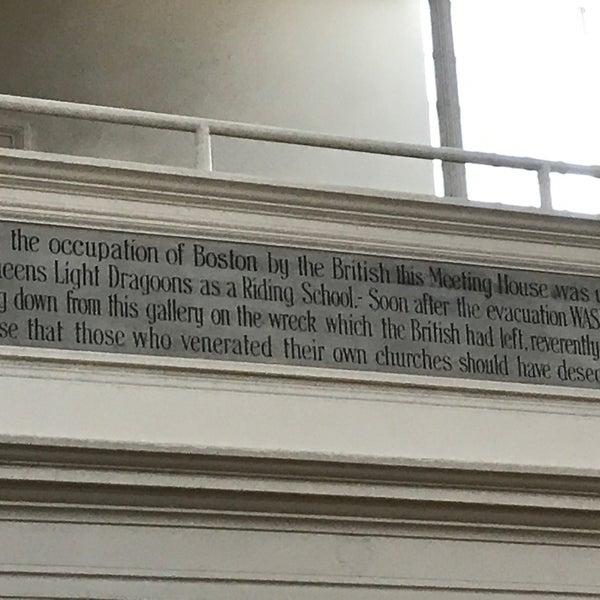 7/5/2019 tarihinde Amy V.ziyaretçi tarafından Old South Meeting House'de çekilen fotoğraf