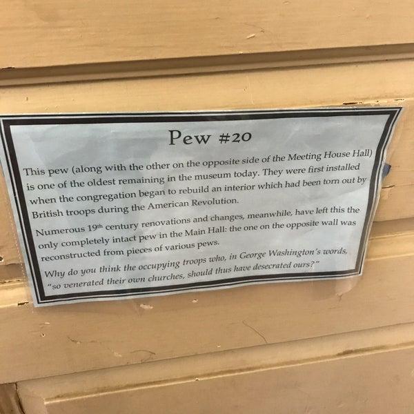 รูปภาพถ่ายที่ Old South Meeting House โดย Amy V. เมื่อ 7/5/2019