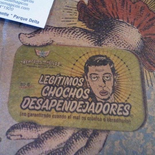 Foto tomada en Remedios Mágicos Botica Condesa por Dory R. el 9/30/2012