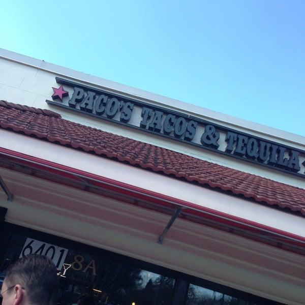 Foto scattata a Paco's Tacos & Tequila da Nancy G. il 2/15/2013