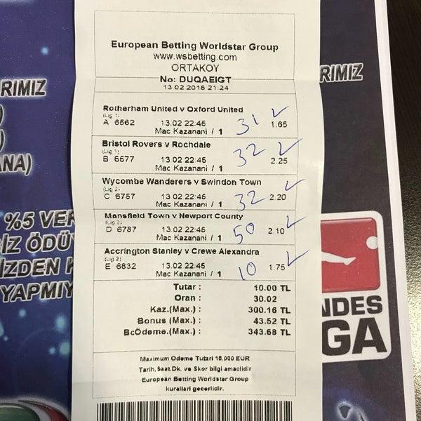 World star betting 300 sports betting books