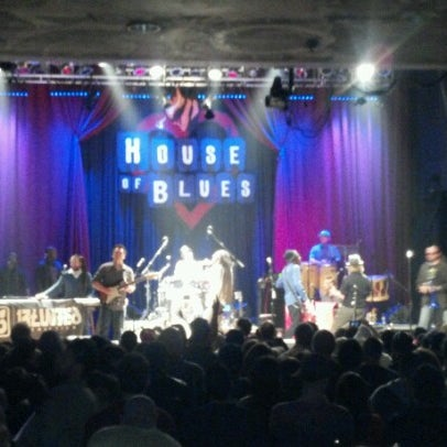 Foto tirada no(a) House of Blues San Diego por Clau N. em 1/27/2013