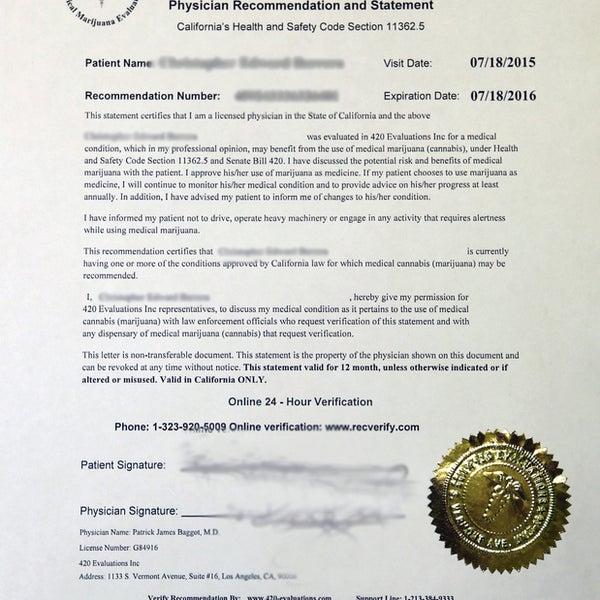 Photos at 420 Evaluations - Medical Marijuana Card (MMJ
