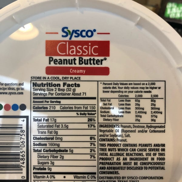 Their peanut butter has hydrogenated oil and dextrose in it!!! Yuck!!!