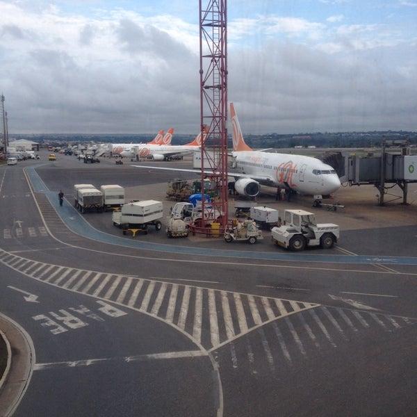 11/14/2013 tarihinde José Carlos S.ziyaretçi tarafından Aeroporto Internacional de Brasília / Presidente Juscelino Kubitschek (BSB)'de çekilen fotoğraf